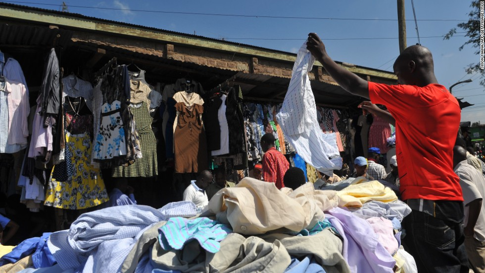 Importing Used Clothes Into Nigeria