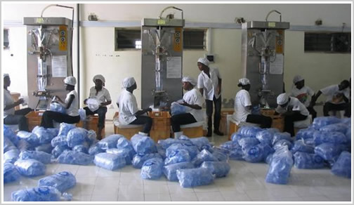 Sachet Water Production Factory