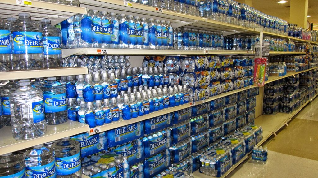 Bottled-water-supermarket