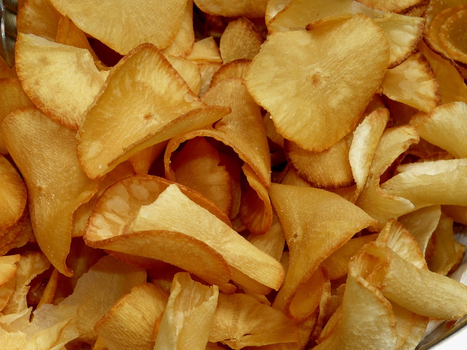 Cassava Chips Production