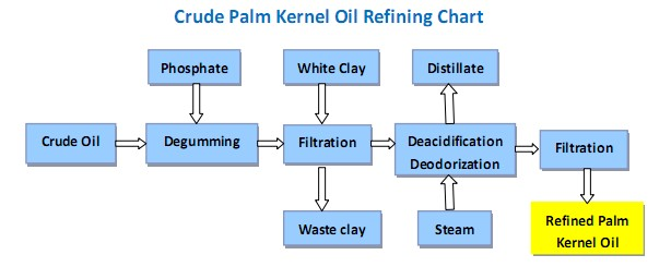 Crude Palm Kernel Oil Refining Processing