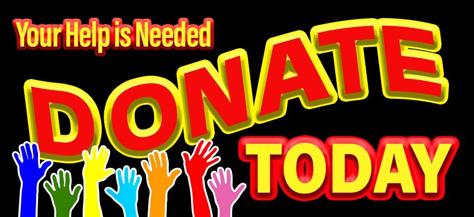 Website Donation Button