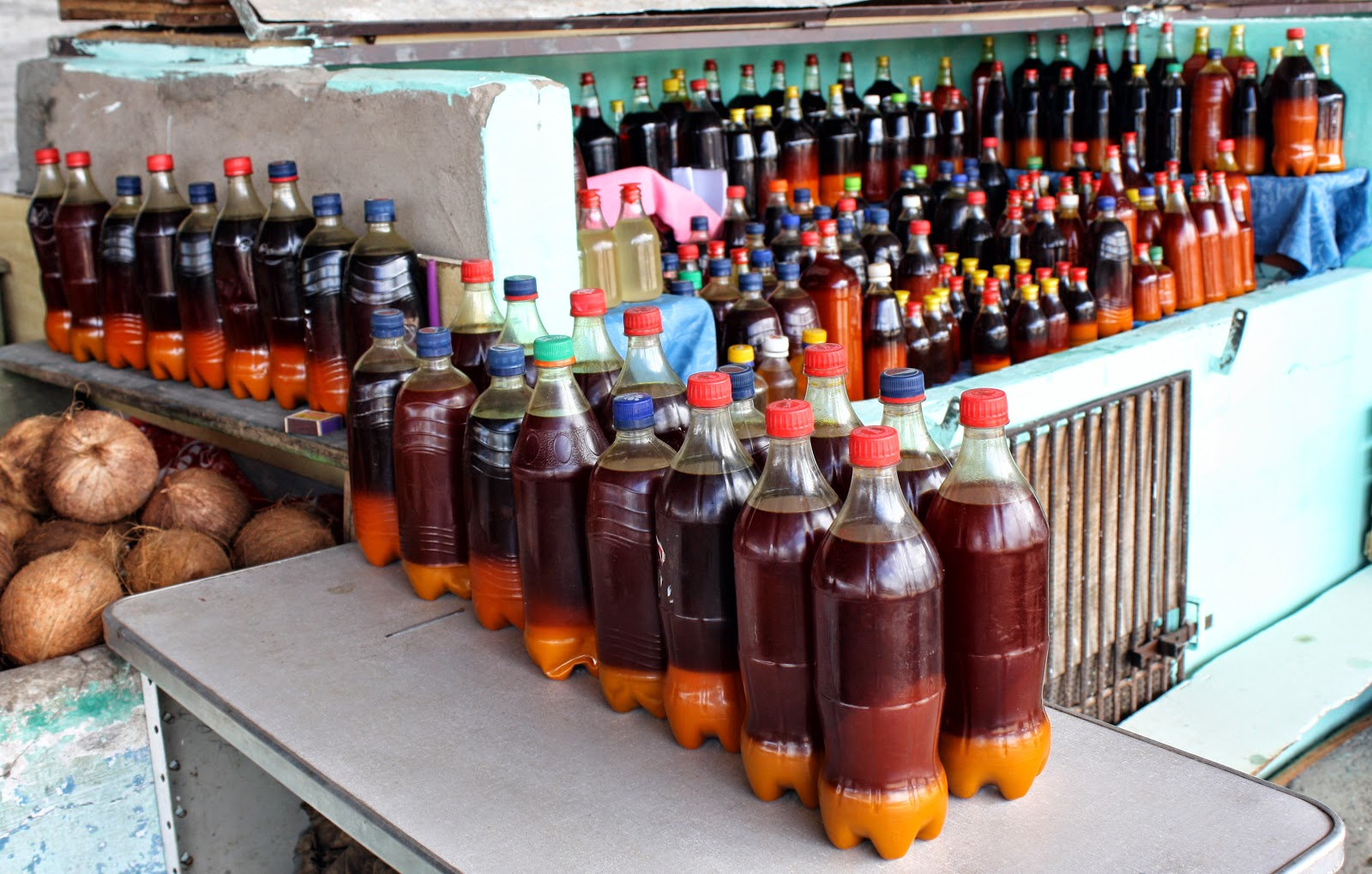 how to make palm oil at home