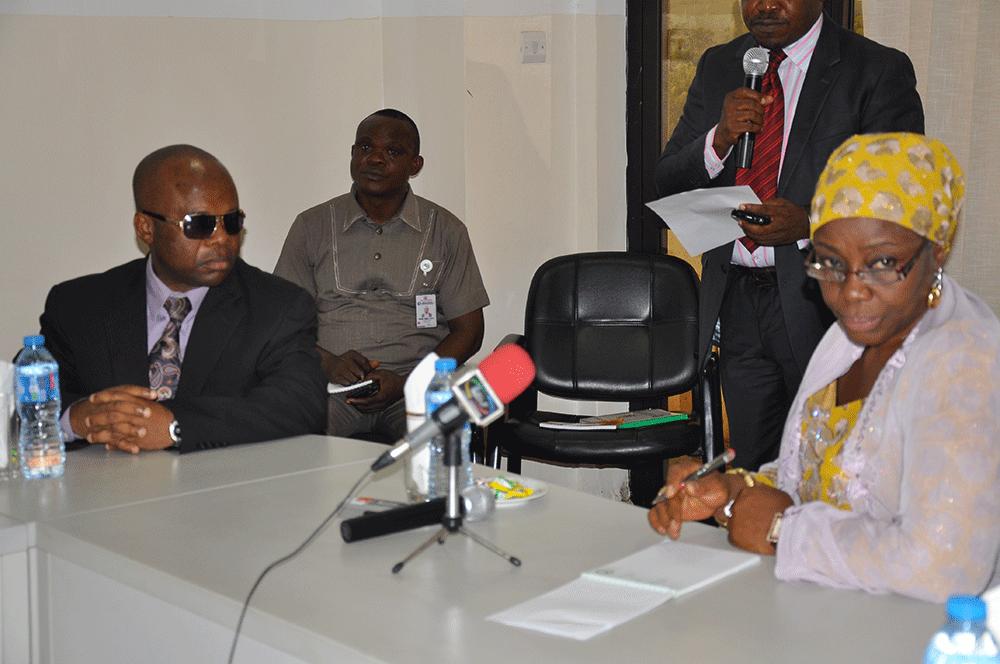 The Executive Secretary of the NIPC, Mrs. Uju Aisha Hassan Baba with the members of the Nigeria Investment Council USA