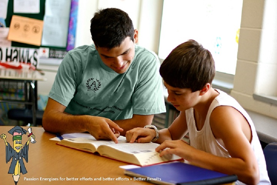 Private tutor  having a session with a student | Photo credit:jobmail.co.za