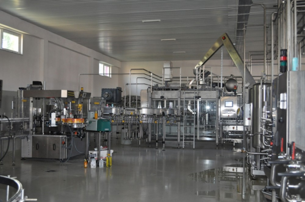 Complete Fruit Juice Hot Filling And Packing Production Line
