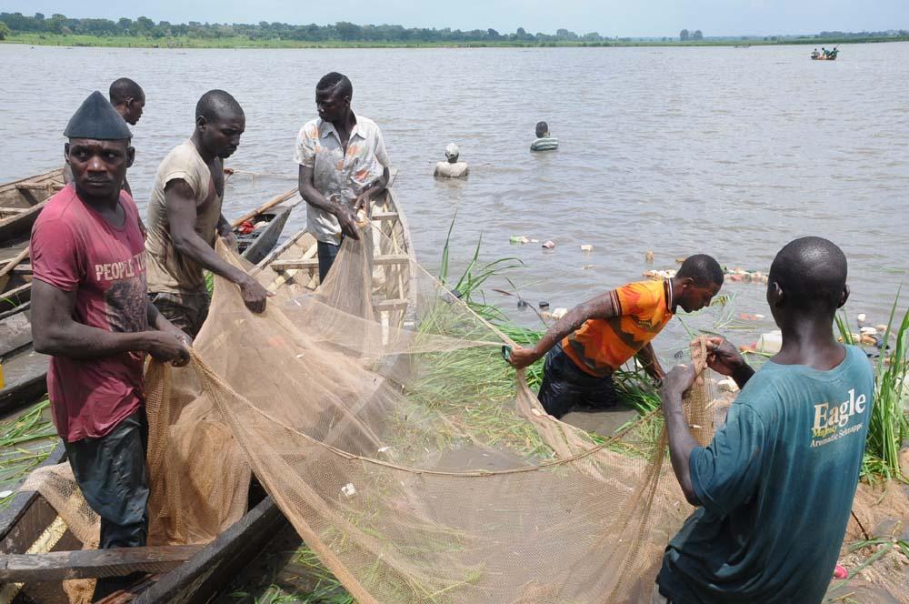 Fishermen in a Fishing Trip
