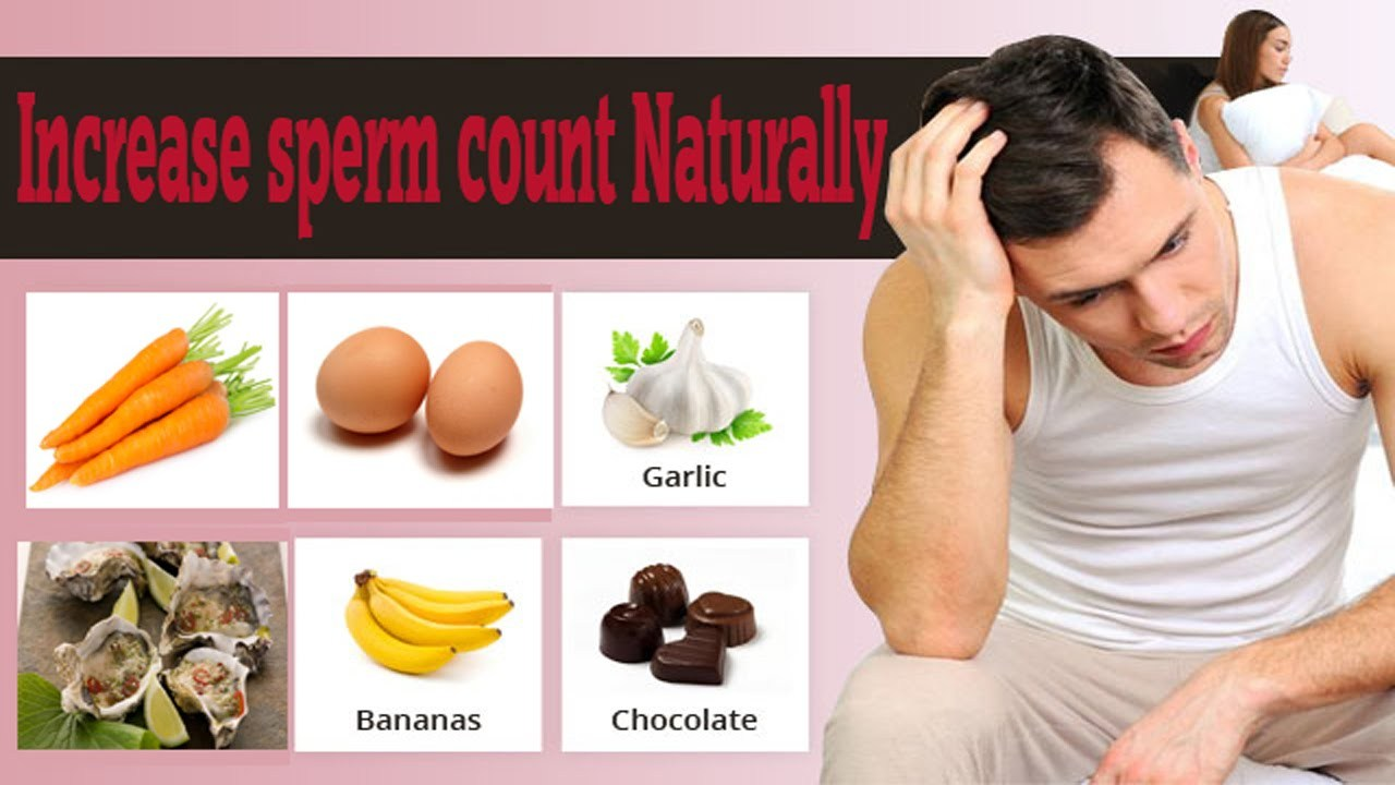 Vitamins that increase sperm count