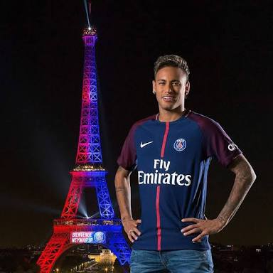 What is Neymar Jr's Salary per week?