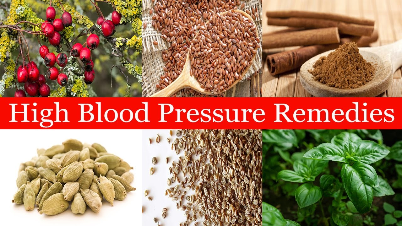 Herbal Cures for High Blood Pressure
