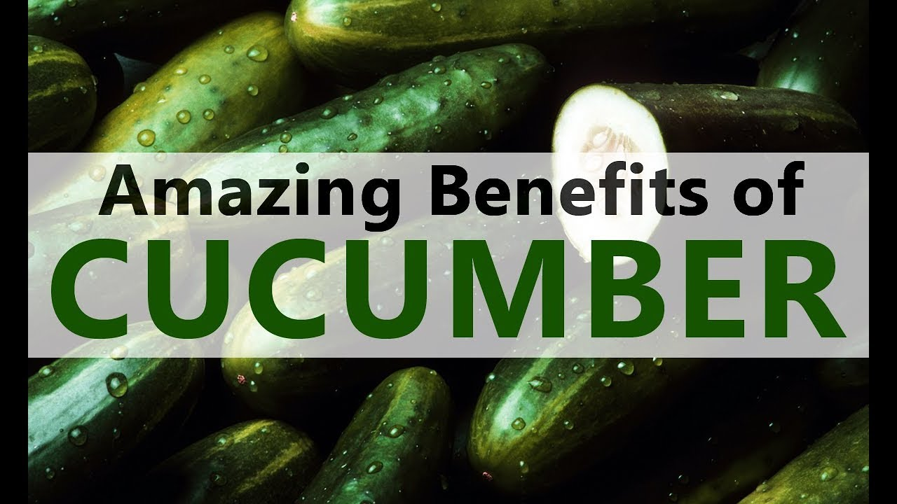 Amazing health benefits of Cucumber